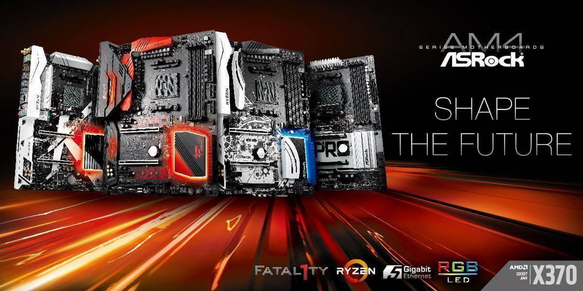Asrock gets on the Ryzen mobo bandwagon
