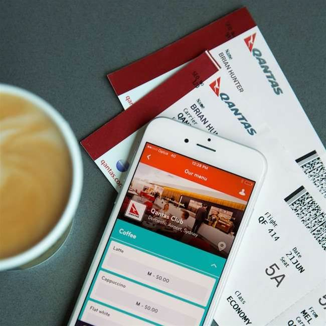 Skip past the coffee queue at Qantas lounges