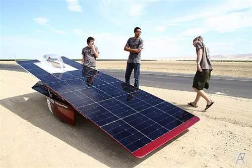 "University unveils ""world's fastest"" solar-powered car"