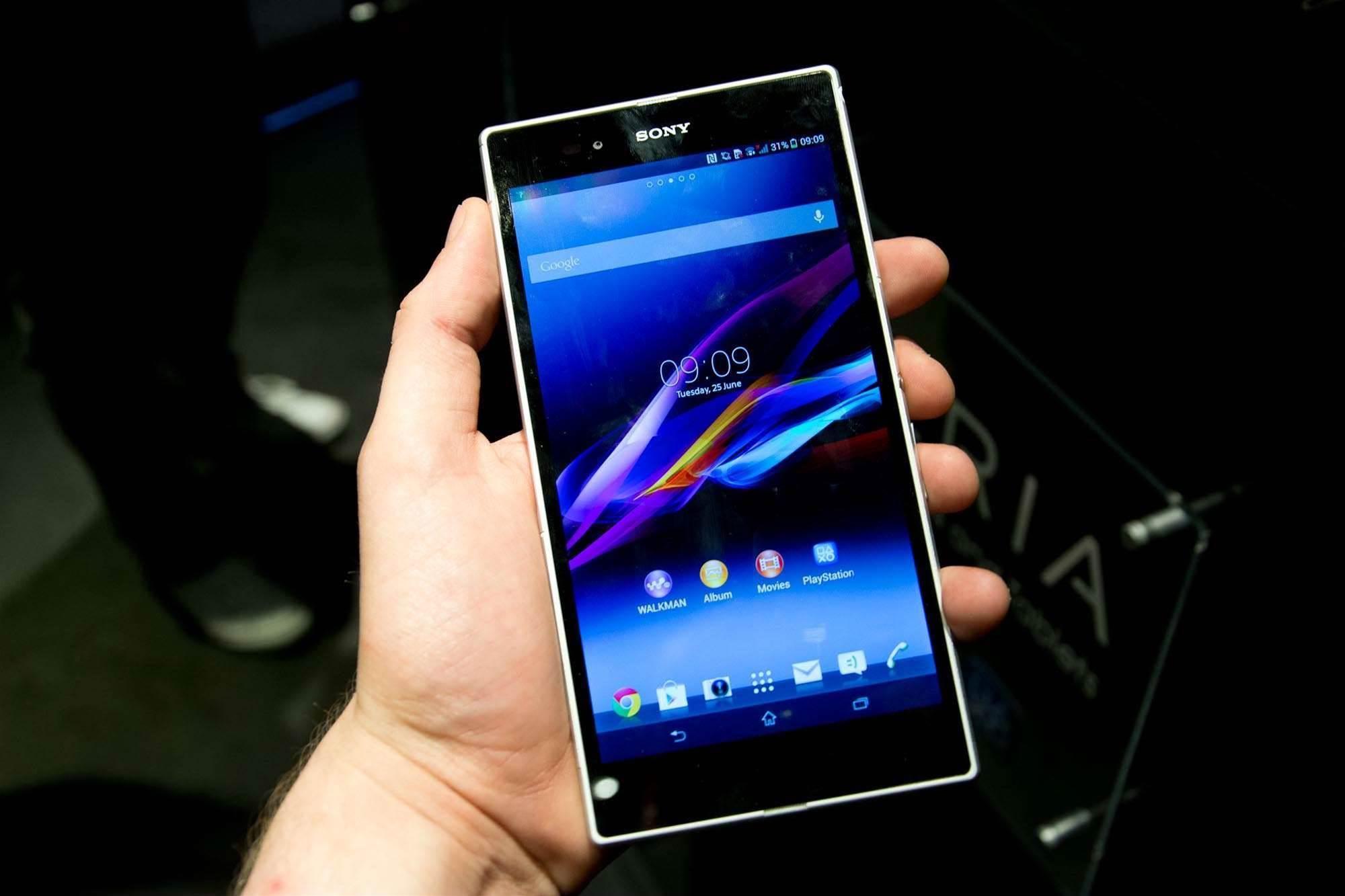 Sony Xperia Z Ultra: a 6.4in waterproof smartphone