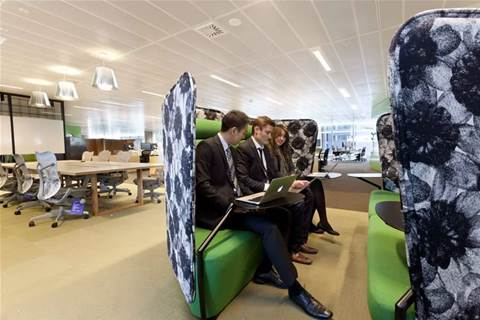 Inside CommBank's activity-based workplace