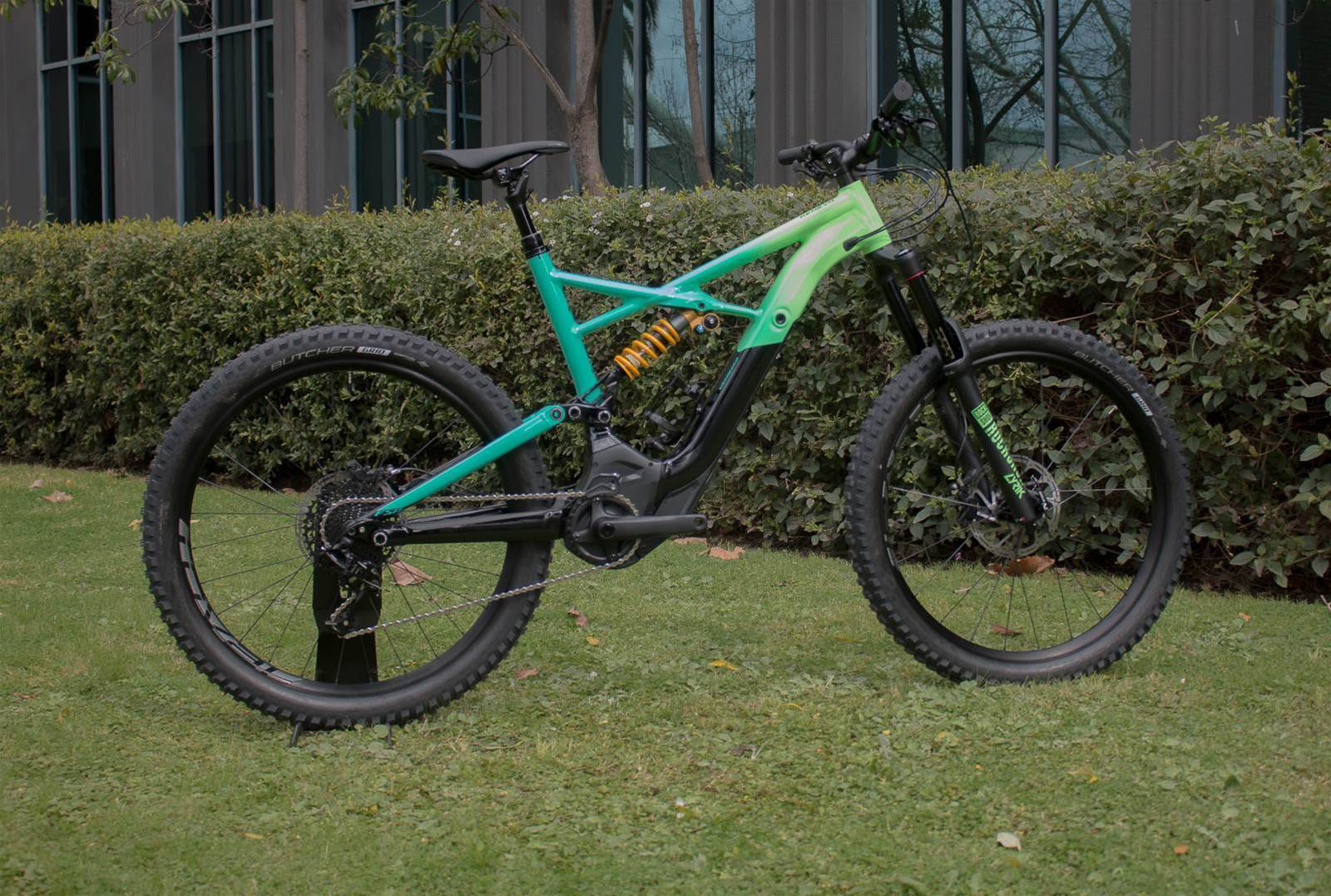 Send it with the new Specialized Kenevo