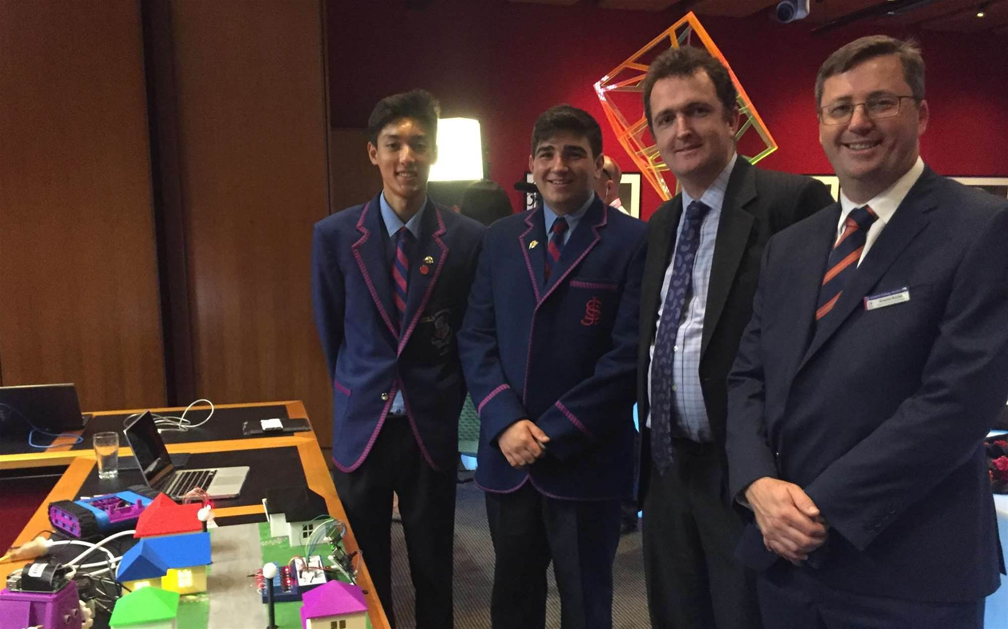 St Joseph's College brings IoT into classroom