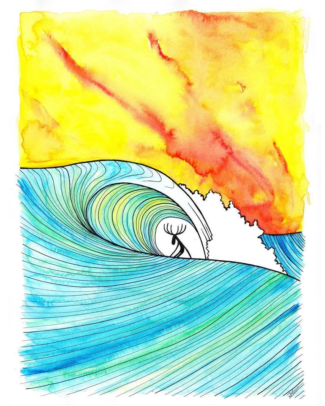 The Little World Where Animals Surf
