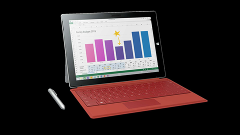 First look at the new Microsoft Surface 3