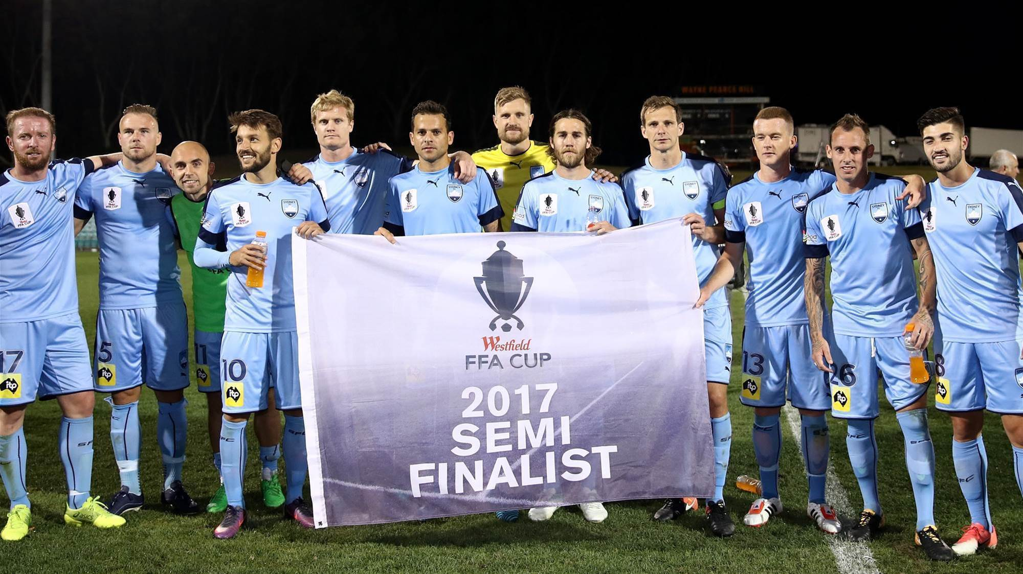 Brillante: FFA Cup is first on the list