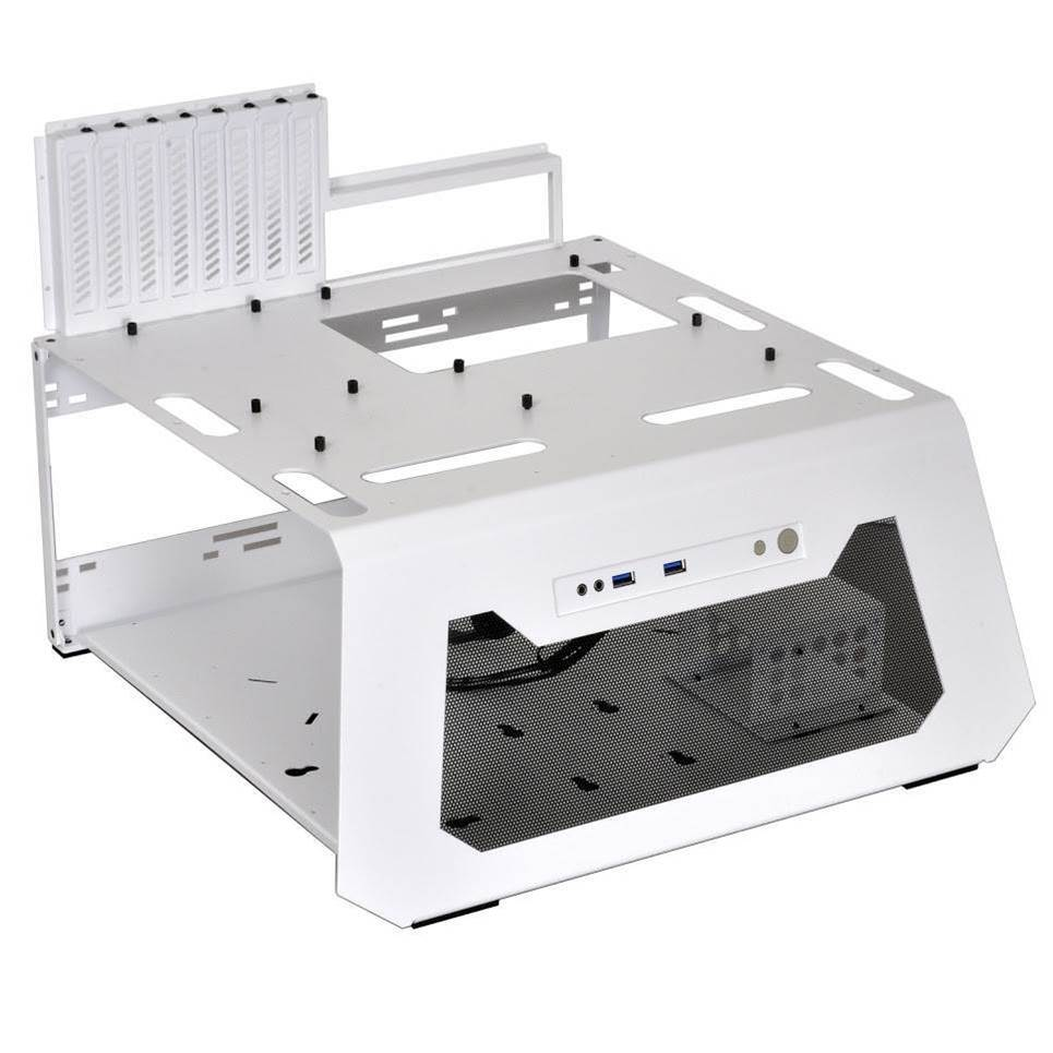 Lian Li releases all-white PC-T70 test bench chassis
