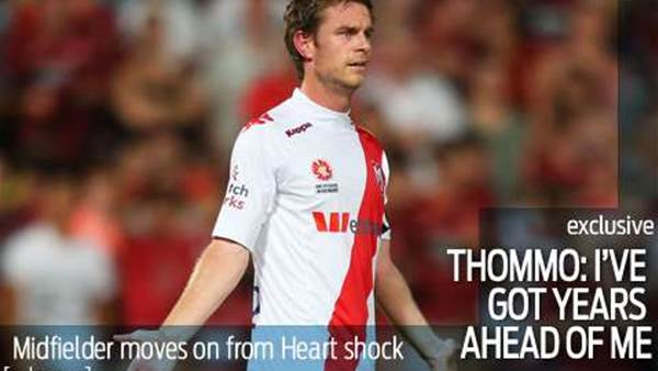 Thompson looks to future after Heart shock