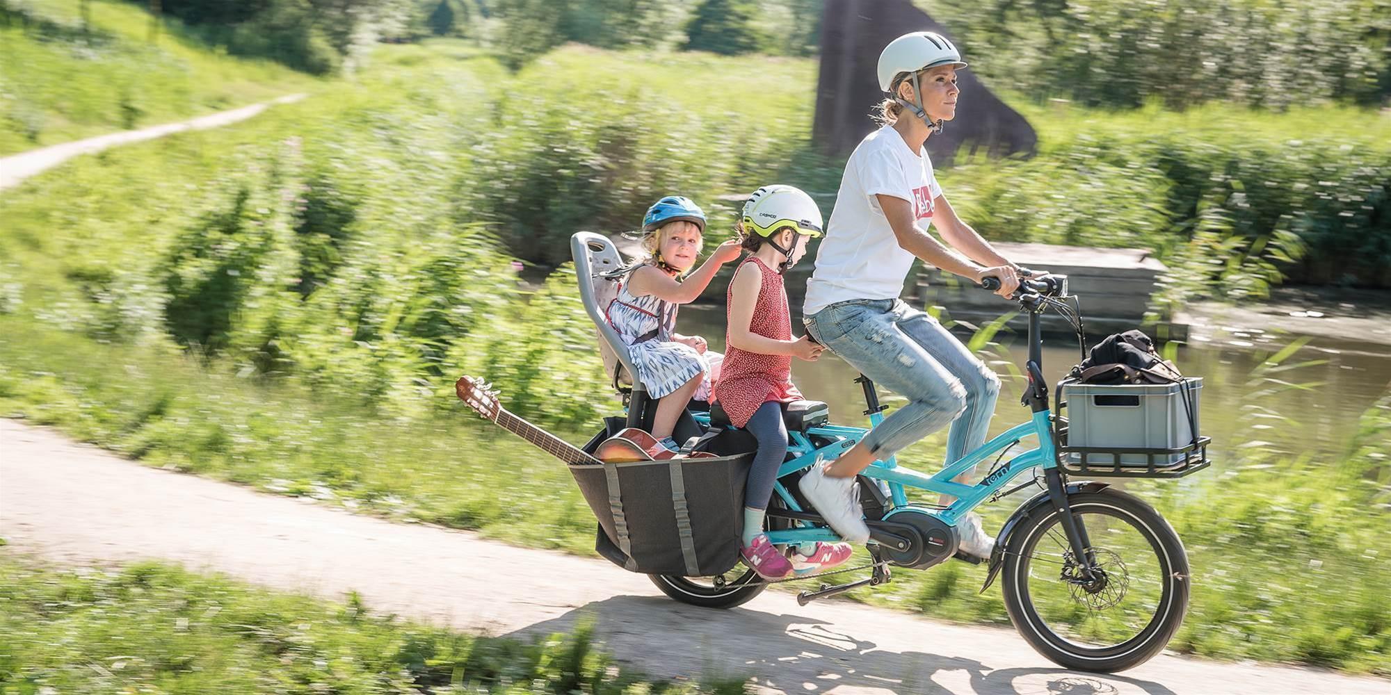 Tern's newest E-bike upgrades family bike adventures