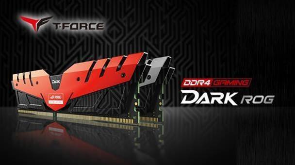 Team Group works with Asus for T-Force Dark ROG RAM modules