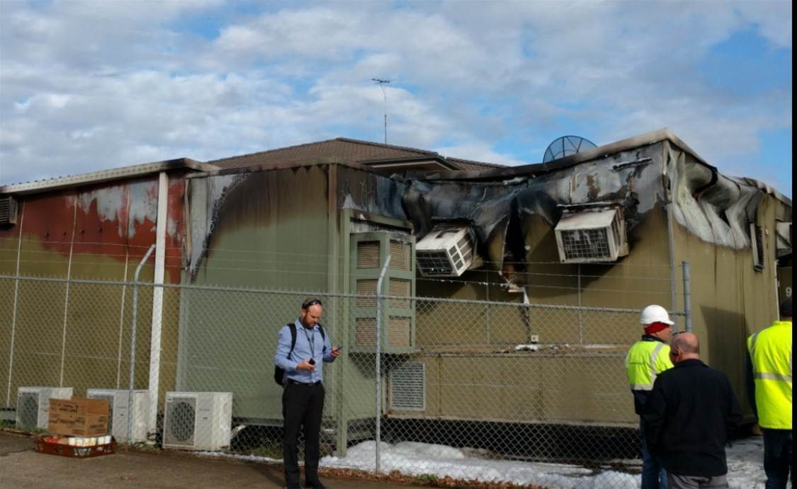 Telstra hit by Parklea exchange fire