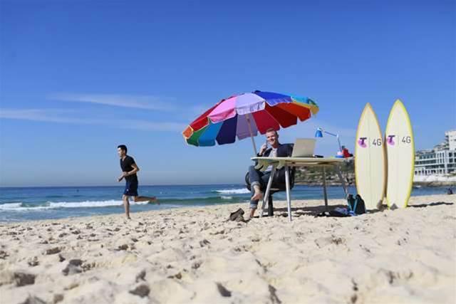 Bondi Beach free wifi switched on