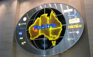 Telstra office energy use becomes video art