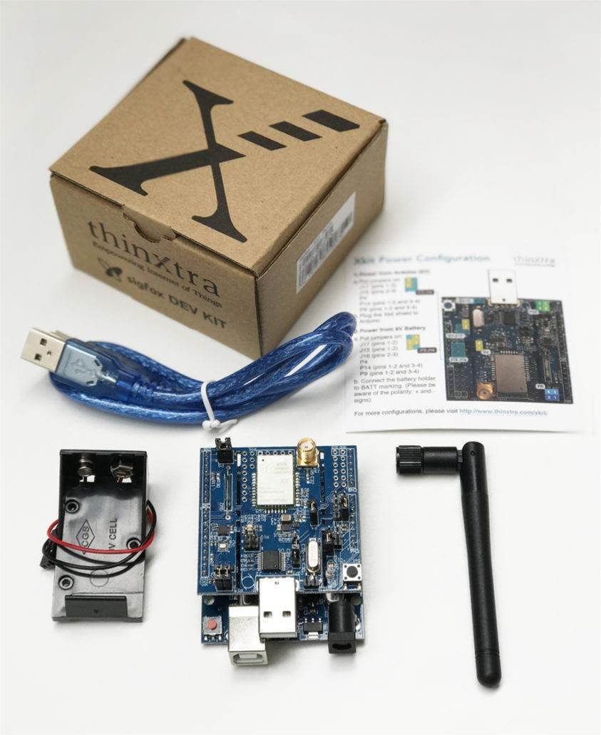 Thinxtra releases Sigfox-ready development kit