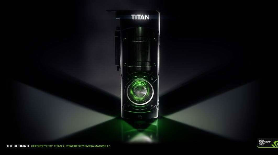 Nvidia Announces Titan X Supercard