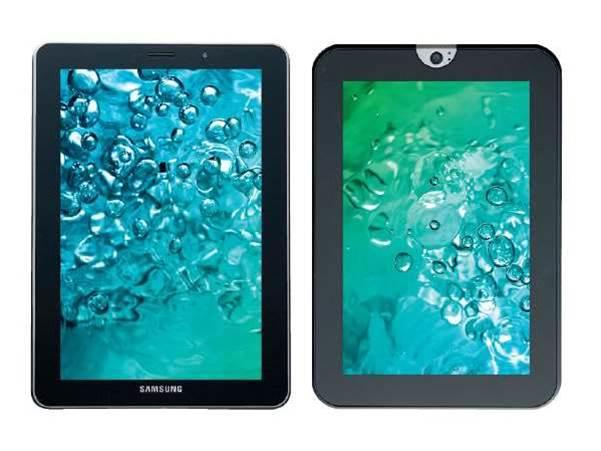 Tablet showdown: Samsung Galaxy Tab 7.7 vs. Toshiba AT1S0