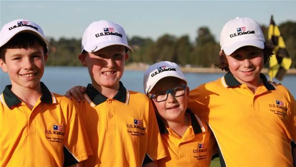Aussie kids win Trans-Tasman Trophy