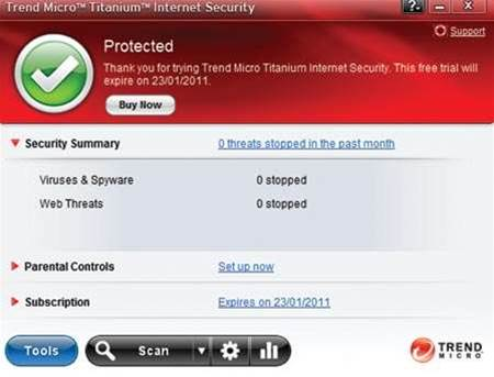 Trend Micro Titanium Internet Security 2011, why it's our new A-List security software