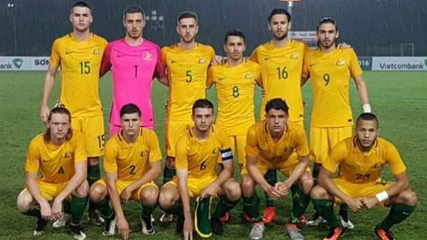 Young Socceroos dominate