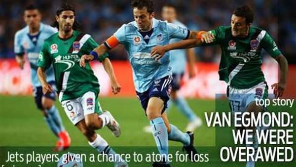 Van Egmond pragmatic after loss
