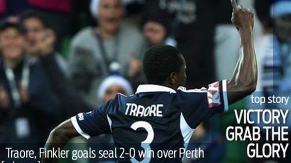 Traore, Finkler hand Victory the glory
