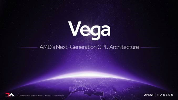 AMD's Vega GPU will be aimed squarely Nvidia's GTX 1080 Ti