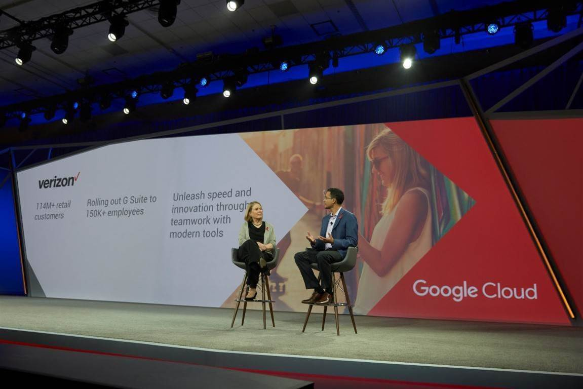 Colgate, Verizon in mass G Suite migrations