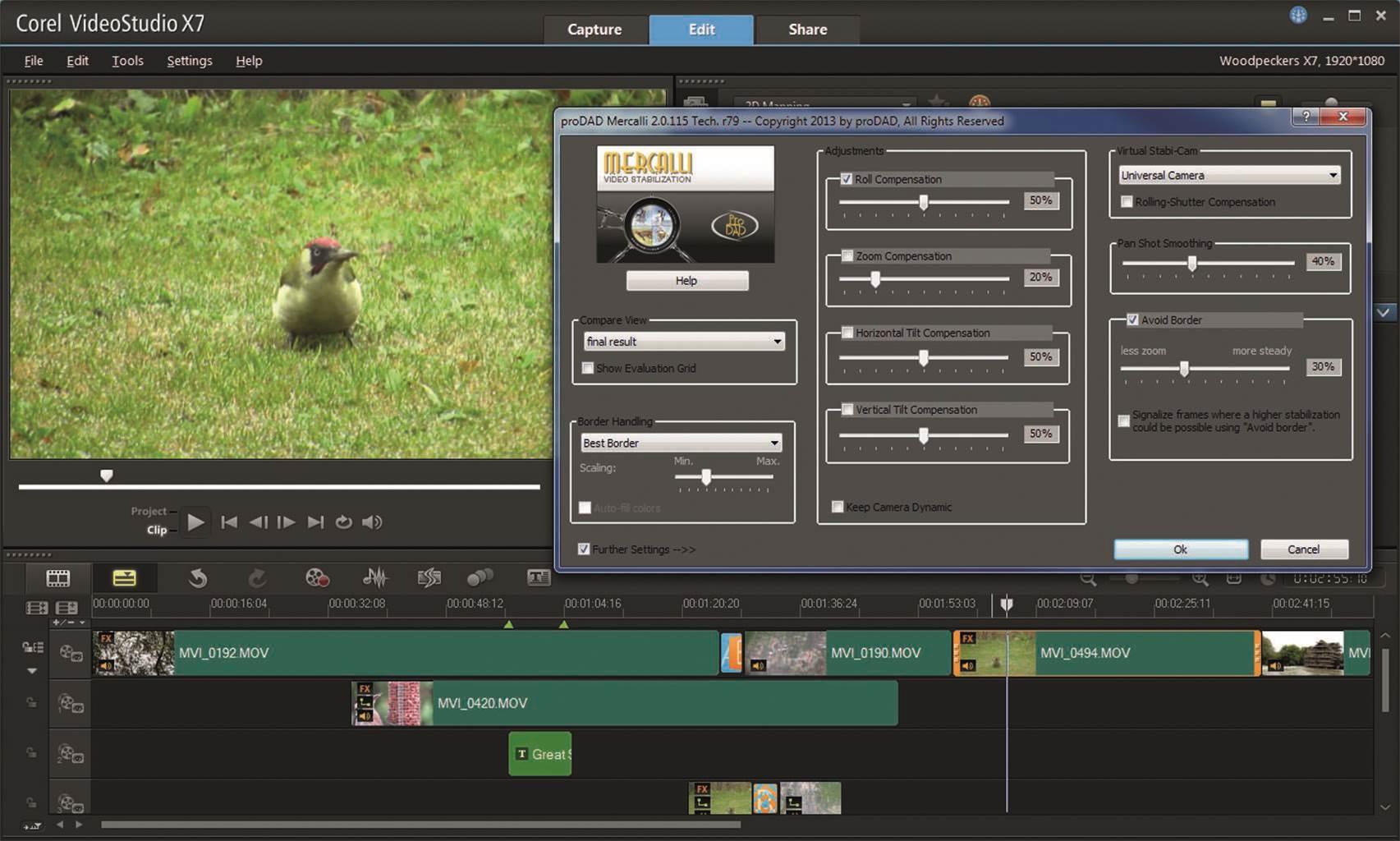 Review: Corel VideoStudio Ultimate X7