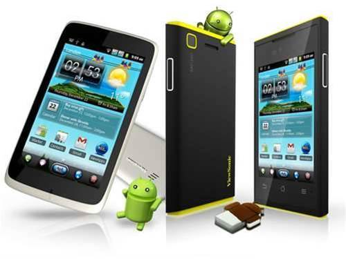 MWC 2012 – ViewSonic unveils the first dual-SIM Android 4.0 phones