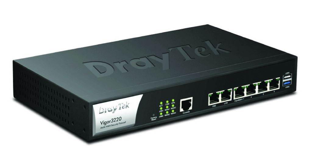 Review: Draytek Vigor3220 Multi-WAN Security Router