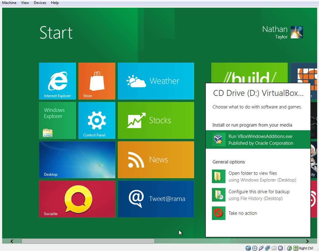 Windows 8 – first impressions of the operating system