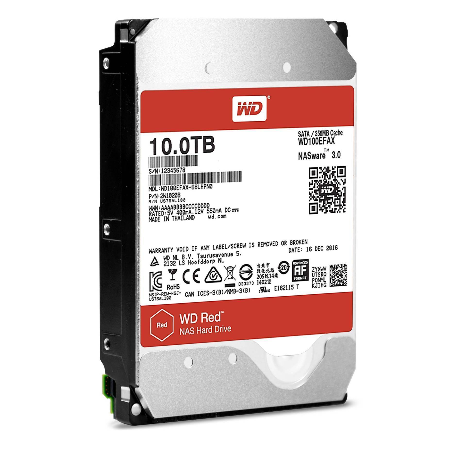 Western Digital releases 10TB WD Red and WD Red Pro drives