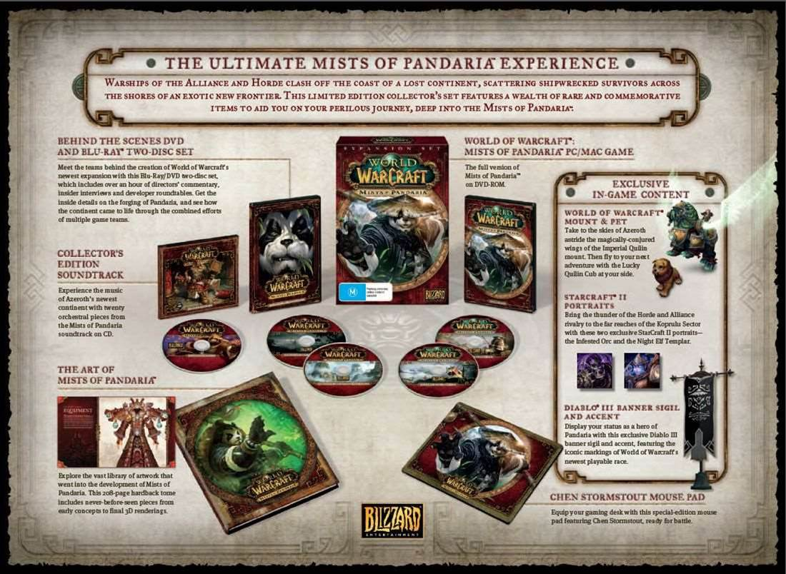 Mists of Pandaria release date announced