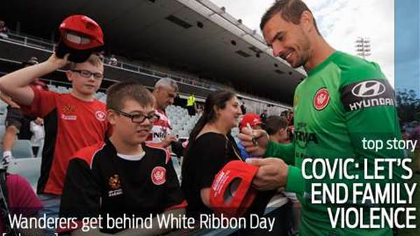Covic gets behind White Ribbon Day