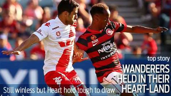 Wanderers held to a draw in their Heart-land