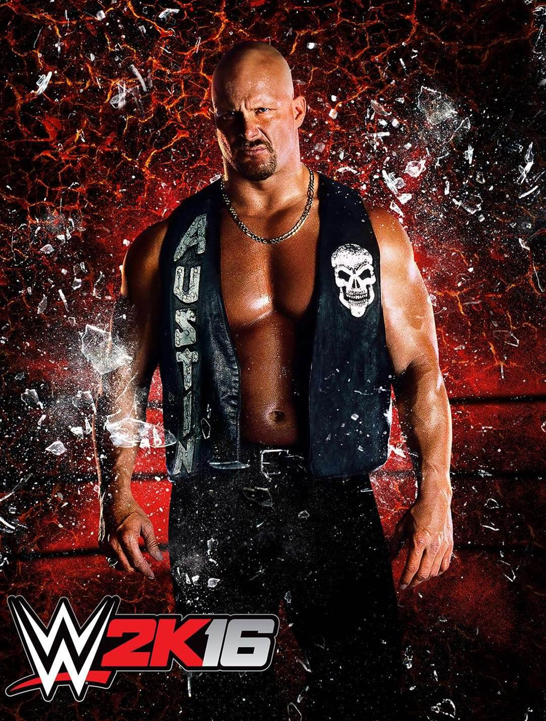 Stone Cold will be on the cover of WWE 2K16