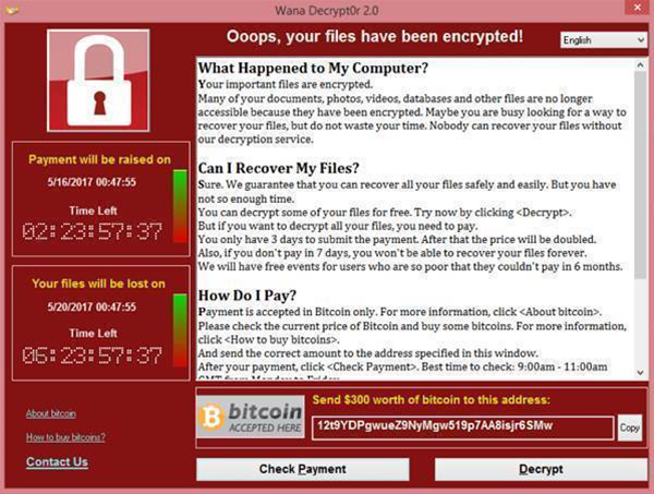 Australian businesses targeted with WannaCry