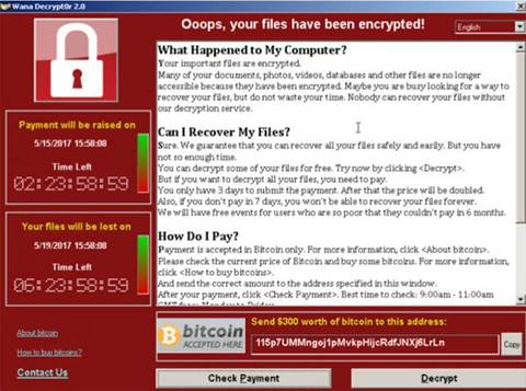 Coding errors in WannaCry can help unscramble files