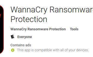 Bogus anti-WannaCry apps appear in Google Play