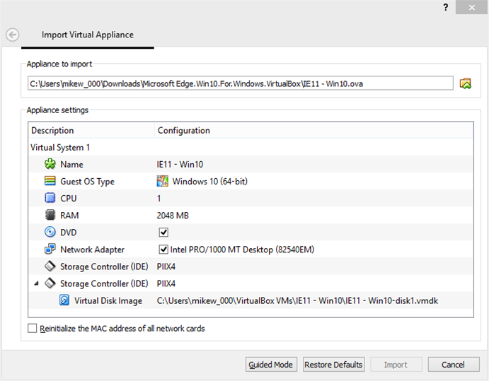 Windows 10 virtual machines available now