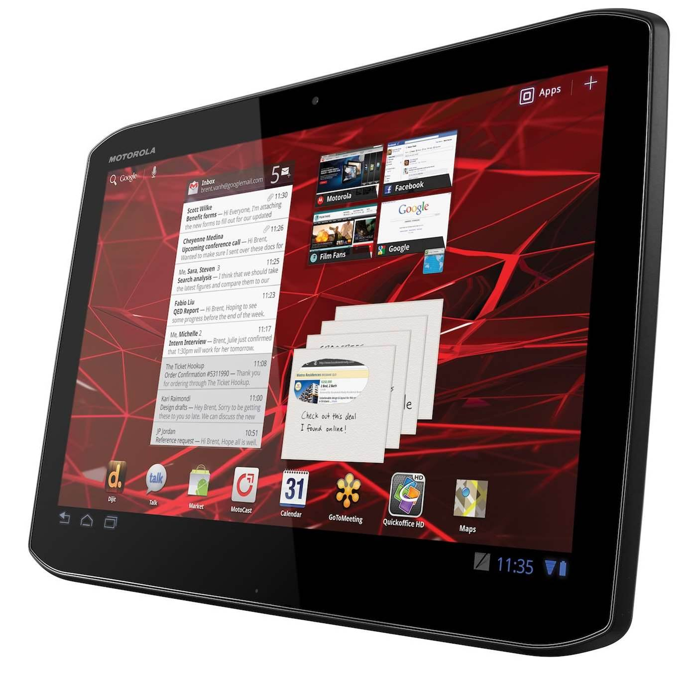 Reviewed: Motorola Xoom 2