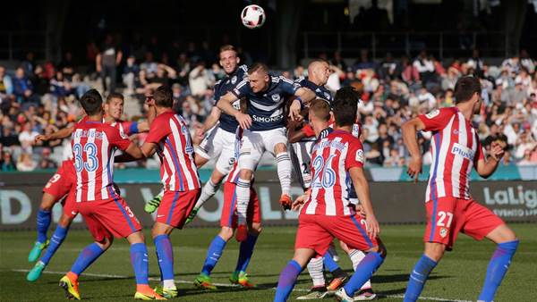 Ansell delivers Victory over Atletico
