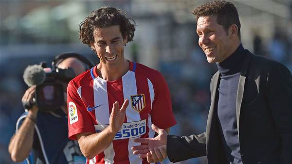 Victory duo catches Simeone's eye