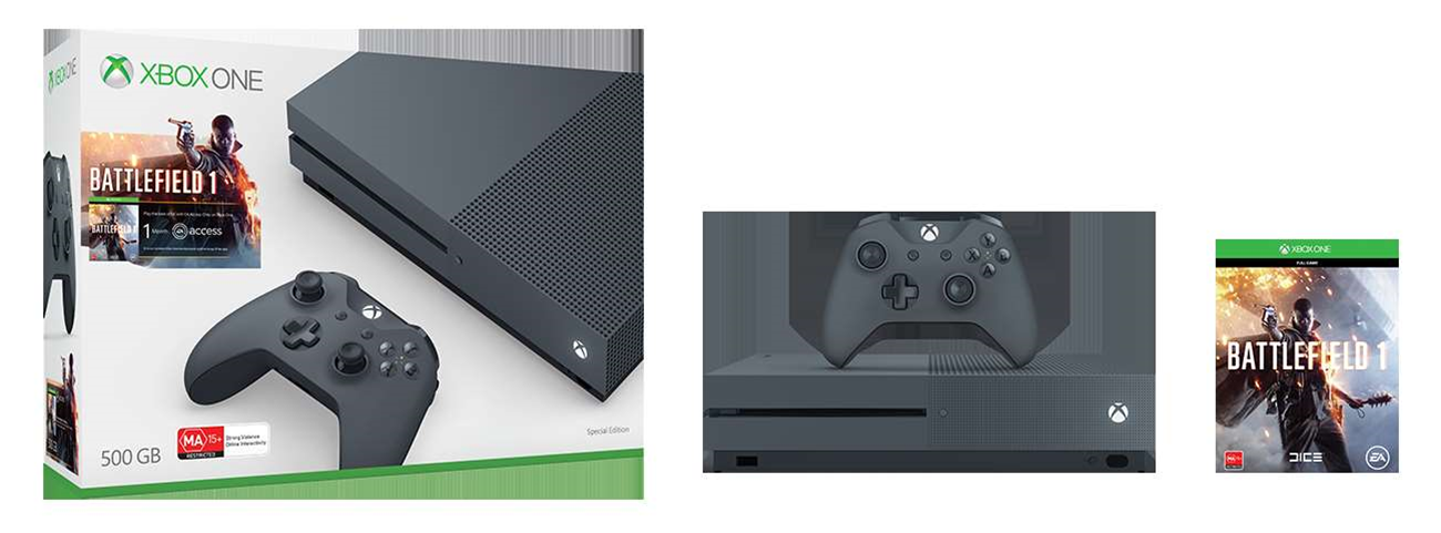 Four new Xbox One S bundles appear in Australian stores
