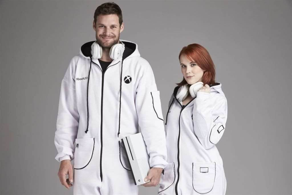 Tell the world you've given up on dignity by wearing an Xbox Onesie