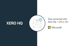 Xero adds Outlook integration to HQ