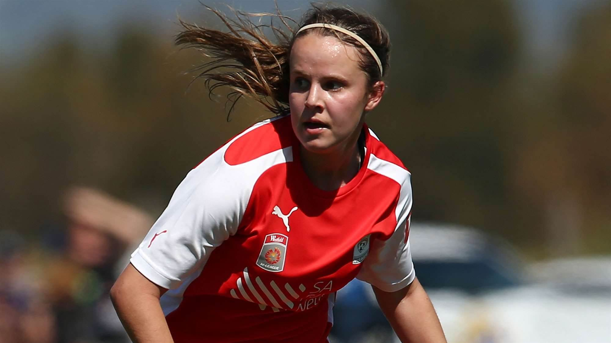 Young Matildas' record goal spree