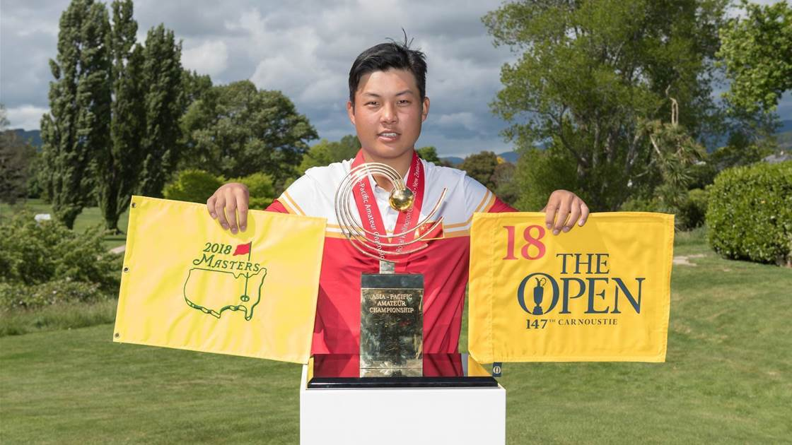 Lin lights up Royal Wellington to win Asia-Pacific Amateur