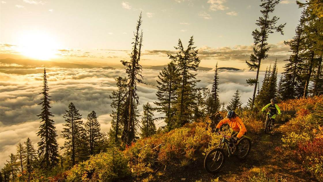 Whiskey and trails in Rossland