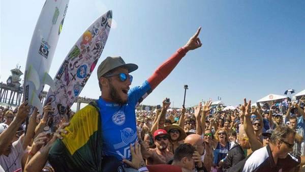 Filipe Toledo Wins US Open